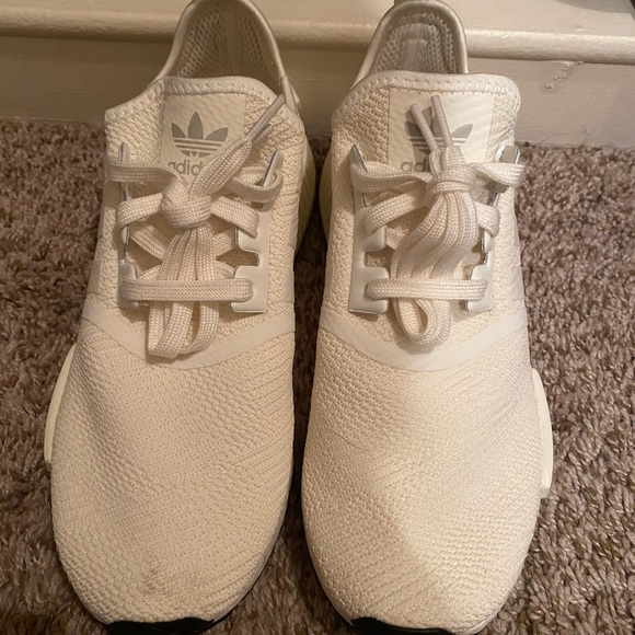 Adidas Shoes Brand New Nmd Sneakers Off White With Gold Poshmark